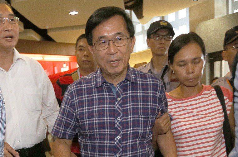 前總統陳水扁已應允另覓醫院就診。 本報資料照片/記者劉學聖攝影