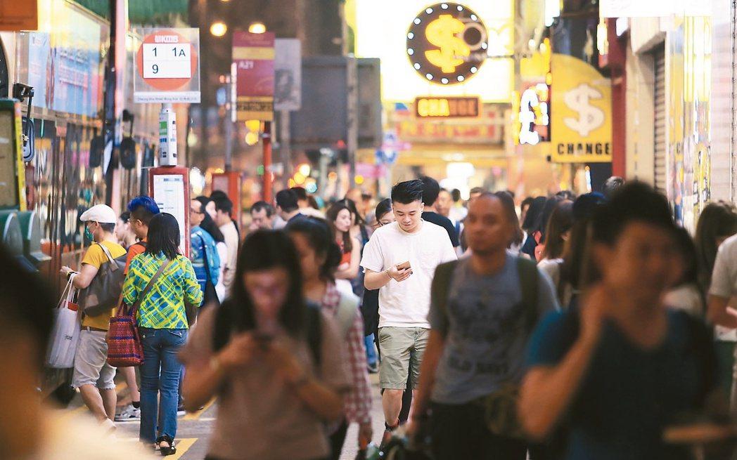專家認為,未來5年是香港發展關鍵。圖/聯合報系資料照