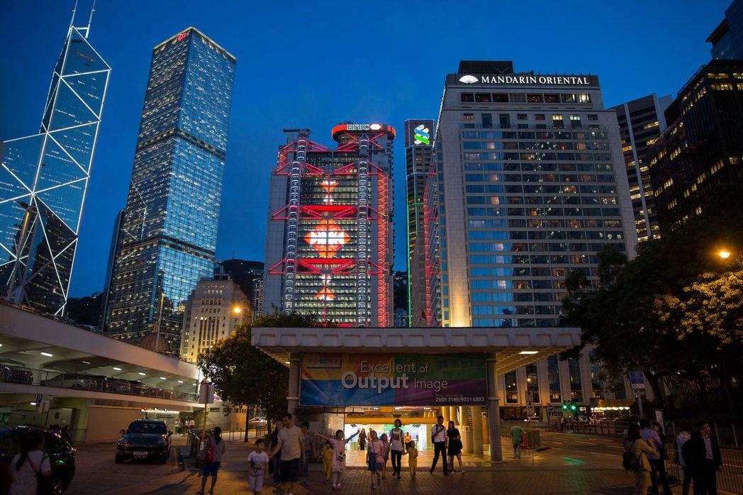 香港示意圖。根據香港政府的數字,香港收入失衡的嚴重程度已達40多年來最高點。房地...