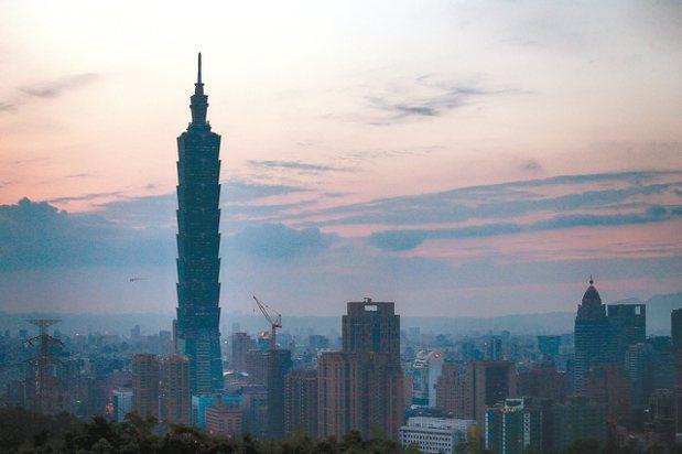 台北市房價已在去年第4季跌破基期,是六都中唯一破底的都會區。 報系資料照