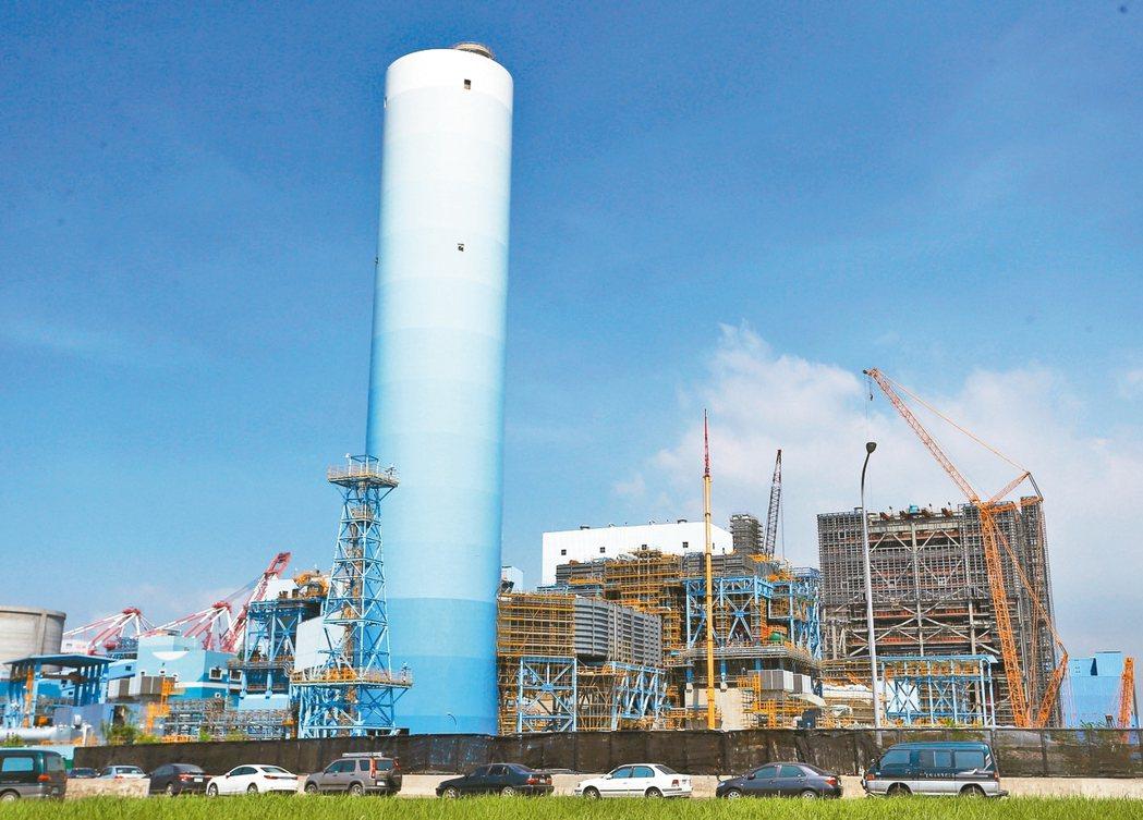 大林電廠1、2號發電機組。 本報資料照片