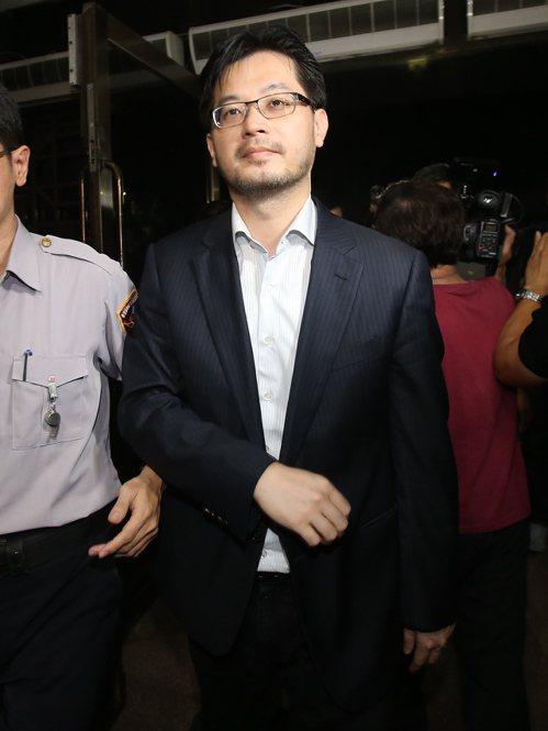 遠雄人壽總經理趙信清移送北檢。 聯合報記者楊萬雲/攝影
