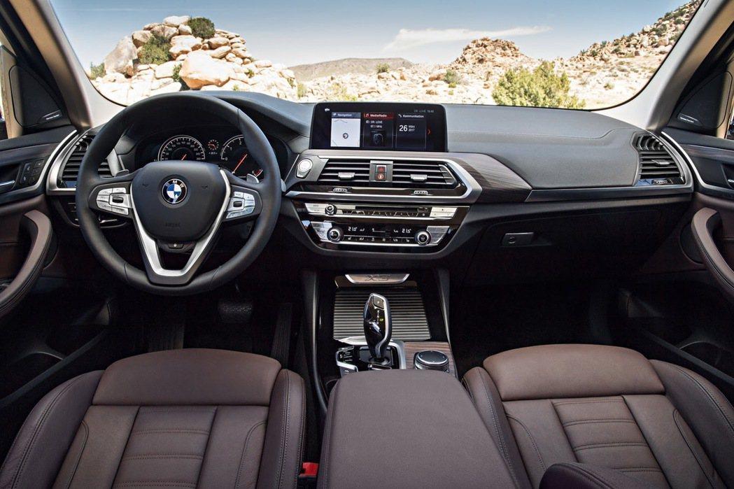 以駕駛為導向的座艙設計。 摘自BMW