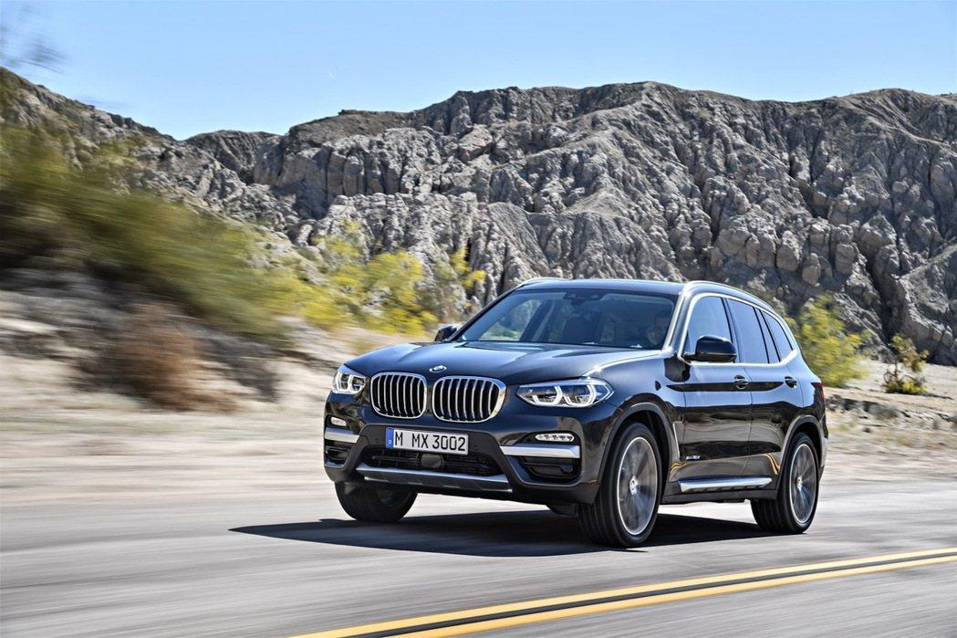 2018年式 BMW X3(原廠代號:G01)。 摘自BMW