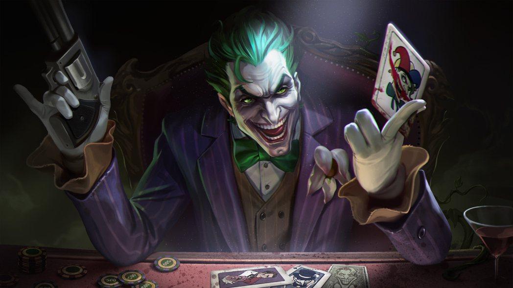DC宇宙的大反派「小丑」於今日正式入主《傳說對決》,預期將掀起一場腥風血雨。 圖...
