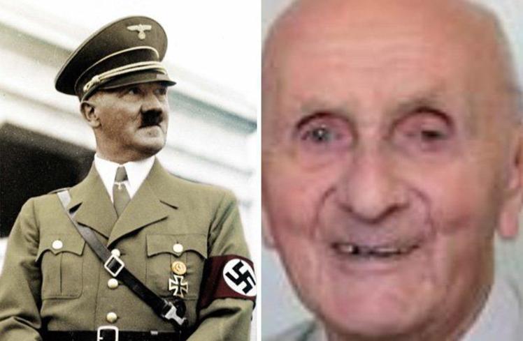 阿根廷有一名高齡128歲的老人古騰堡(右圖),自稱是希特勒(左圖)「本尊」,不過...