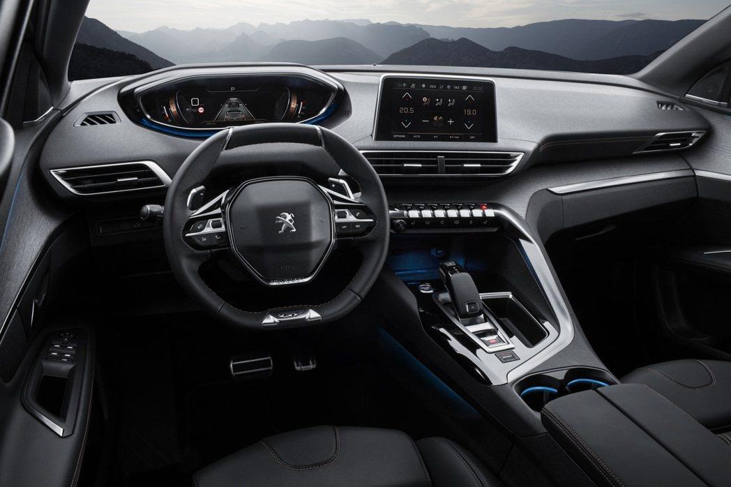 Peugeot 3008。 圖/寶嘉聯合提供