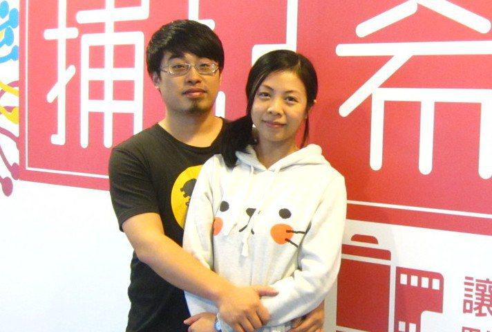 詩雅(右)與世豪參加第四屆癌症希望基金會主辦的「捕捉希望」攝影比賽。 圖/林...