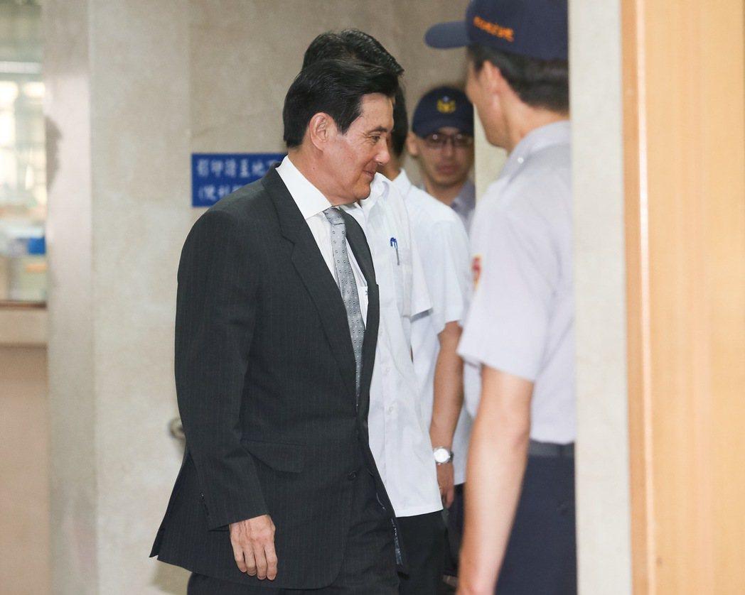 台北地方法院今天再度審理前總統馬英九洩密案。記者余承翰/攝影