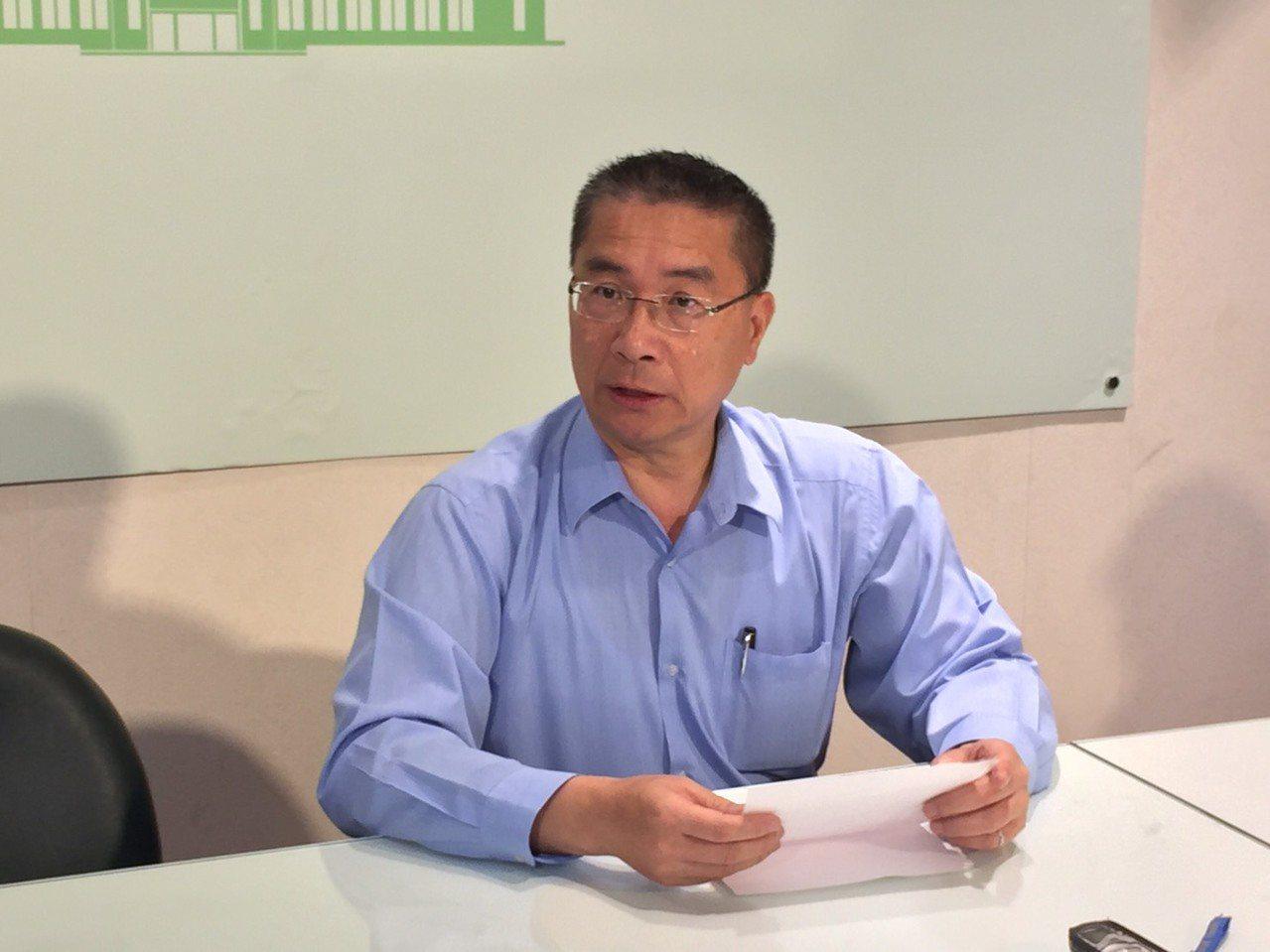 行政院講話人徐國勇。結合報系資料照