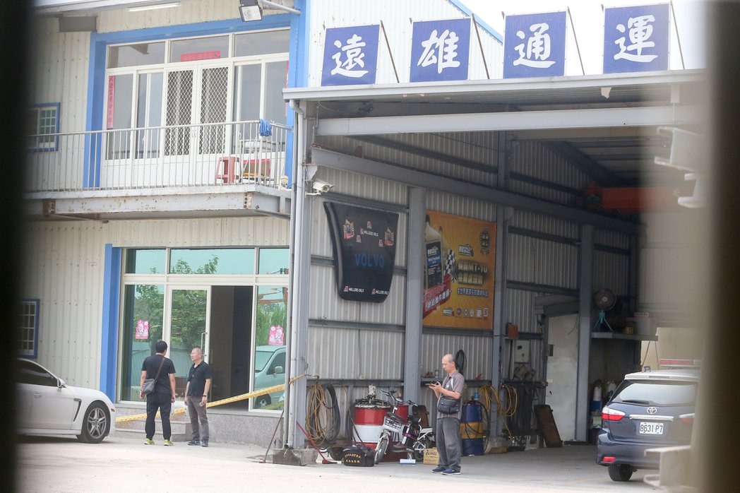 台中市烏日區勤農路今午發生槍擊命案,疑債務糾紛引發殺機。記者黃仲裕/攝影