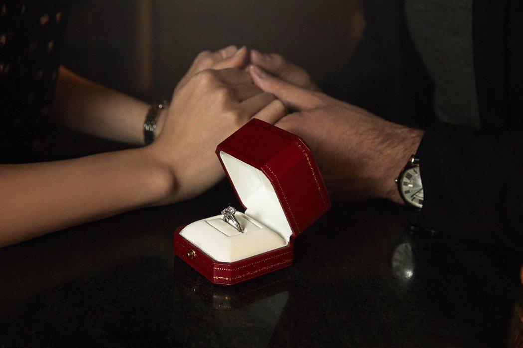 卡地亞婚戒系列微電影《My Favorite Song》。圖/卡地亞提供