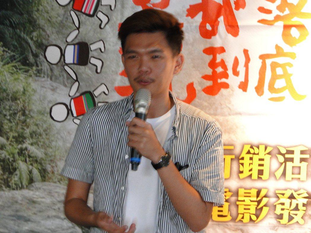 人氣部落客許傑擔任微電影《七天》,未映先轟動。記者范振和∕攝影
