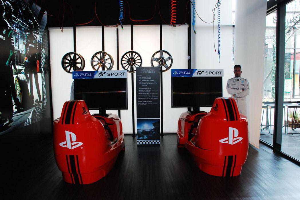 「GT Sport」搶先玩。記者林昱丞/攝影