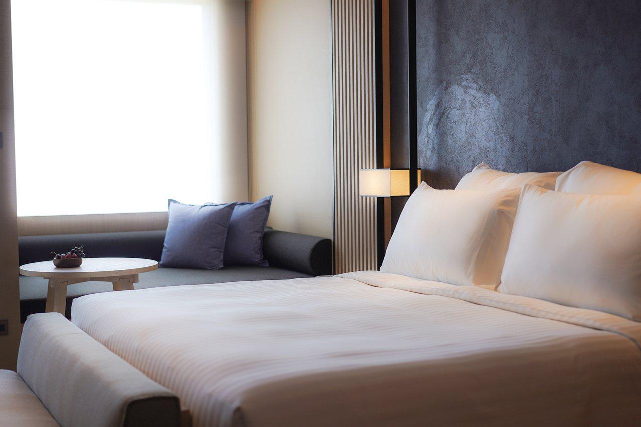 礁溪寒沐酒店房型搶先公開。圖/寒舍餐旅提供