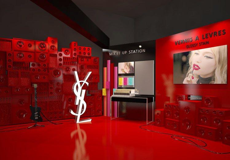 YSL Pop Up Store快閃店即將在7/7~7/9現身台北東區。圖/YS...