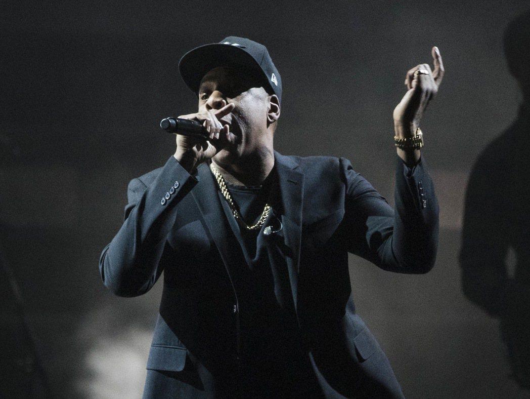 美國饒舌天王Jay-Z。 美聯社