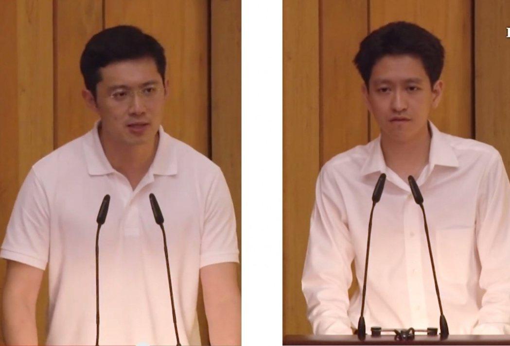 新加坡李氏家族第三代。圖截自YouTube