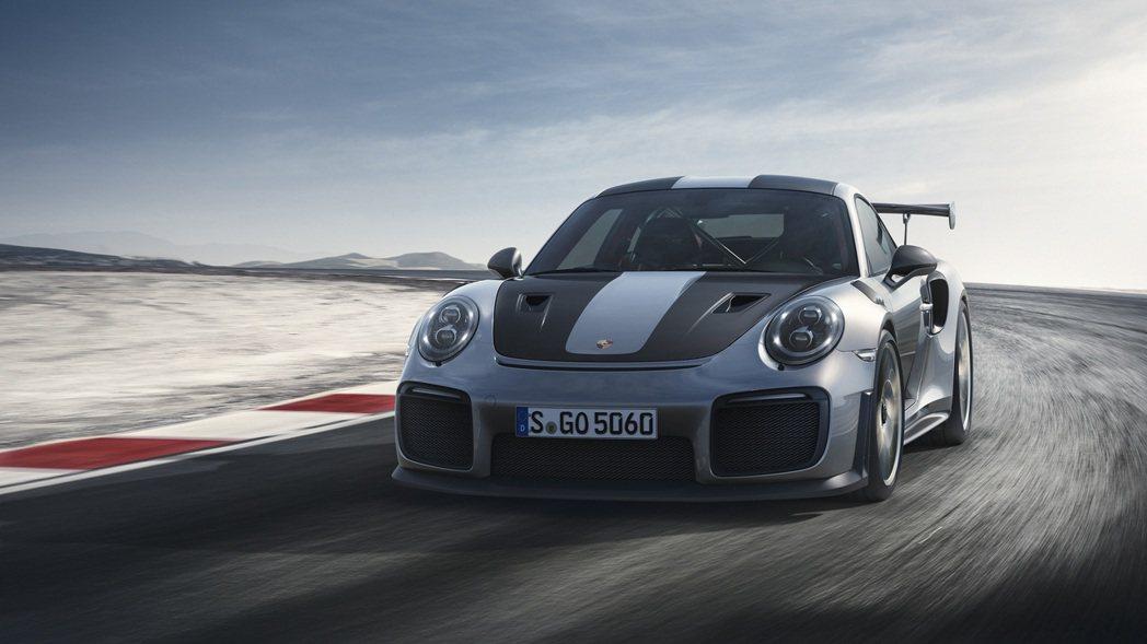 Porsche 911 GT2 RS。圖/Porsche提供