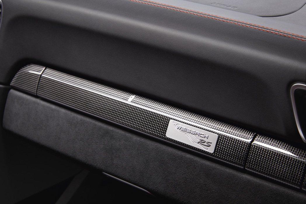 消費者可以選擇「Weissach選配套件」。圖/Porsche提供
