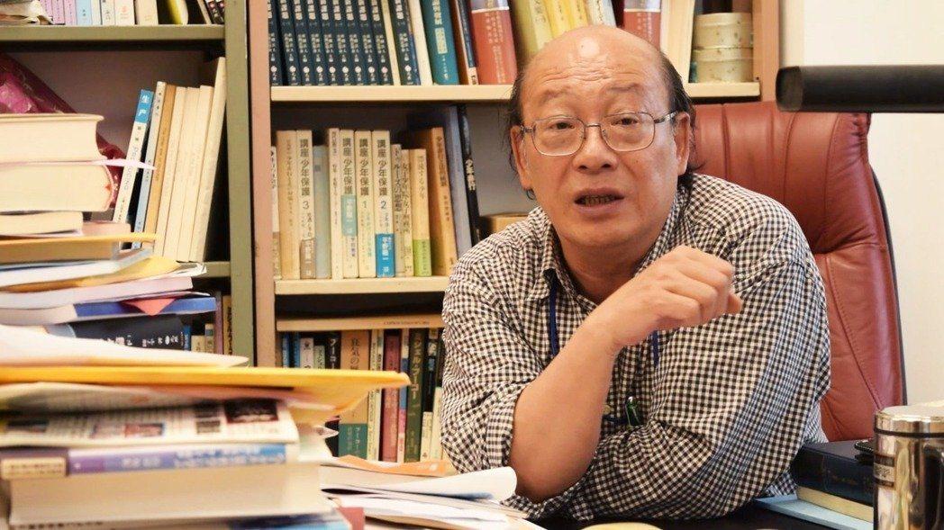 台大教授李茂生。聯合報系資料照