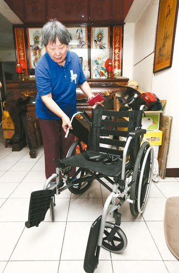 輪椅:7千元 記者蘇健忠/攝影