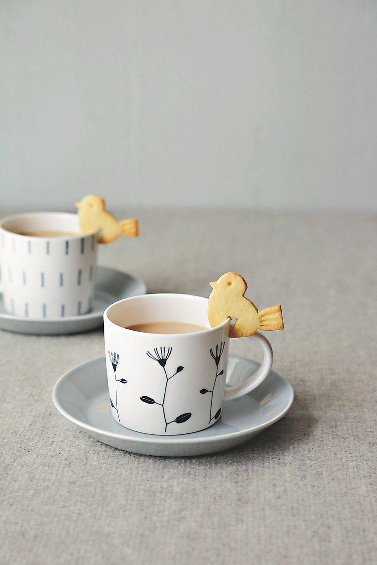 小鳥造型餅乾 圖/摘自采實文化《小烤箱也OK!杯緣子餅乾》