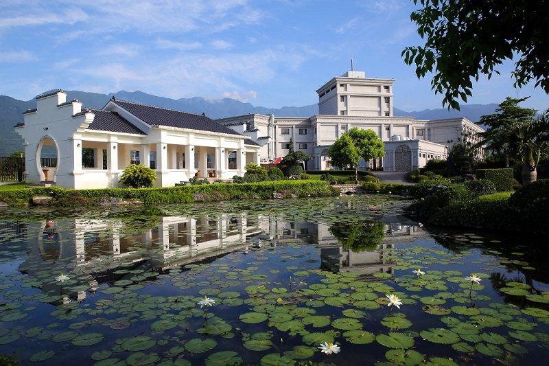 花蓮統茂渡假莊園結合歐式建築與蘇式林園的設計特色