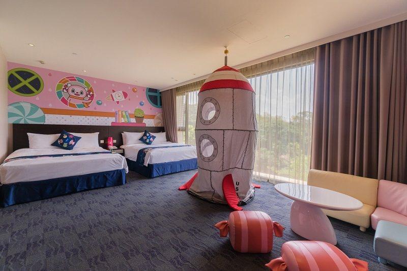 星際主題套房打造專屬孩子的秘密基地