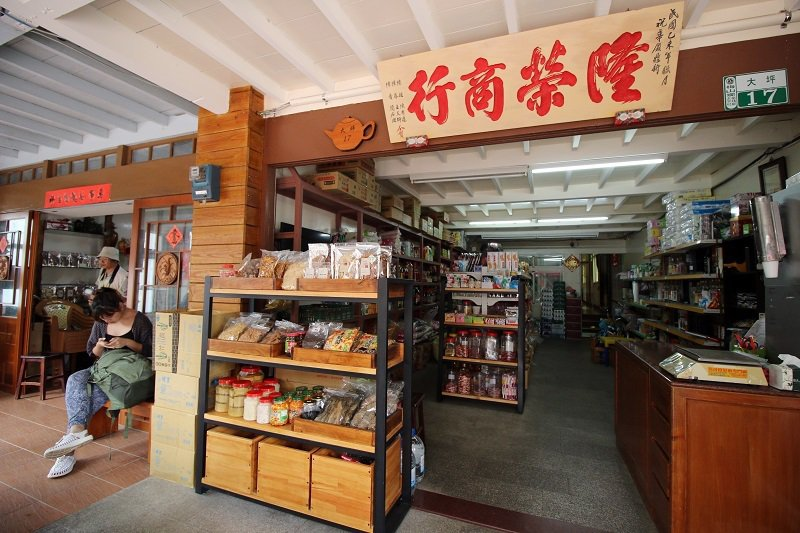 「隆榮商店」的建築是檜木打造,還是文人張文環的故居