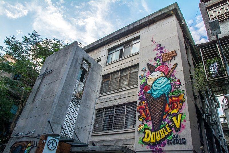繽紛美麗的冰淇淋塗鴉超吸睛
