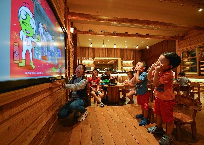 窩窩樂是大人小孩的秘密基地,可拍專屬照片帶回家