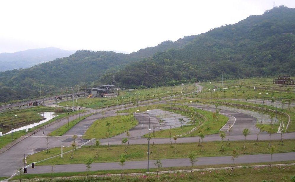山水綠生態公園為解決樹蔭不足,將改善土質與排水以增加植栽。圖/北市公園處提供