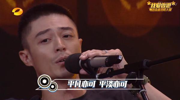 霍建華在綜藝節目裡隨意唱歌結果迷倒大批網友。圖/翻攝自湖南衛視