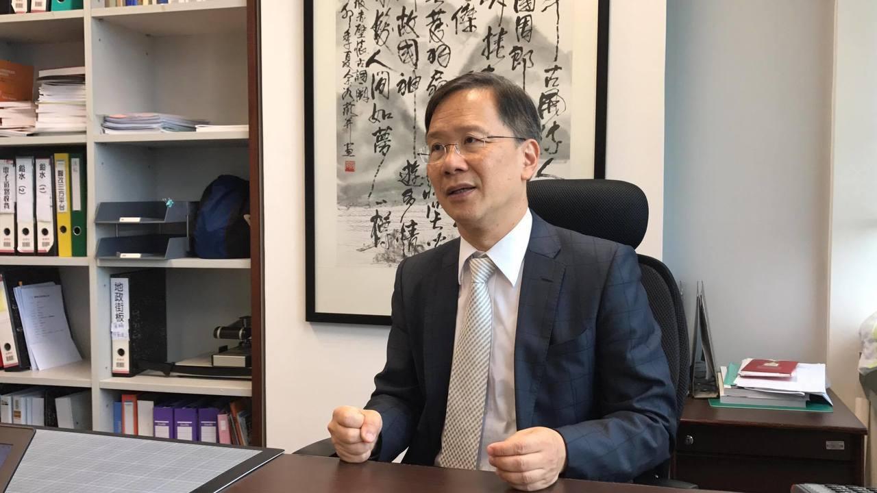 香港公民黨立法會議員、醫師郭家麒。記者杜宗熹╱攝影
