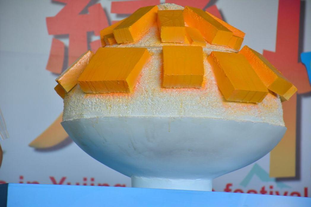 玉井芒果節出場保麗龍冰 主辦遭批還嗆媒體爛咖