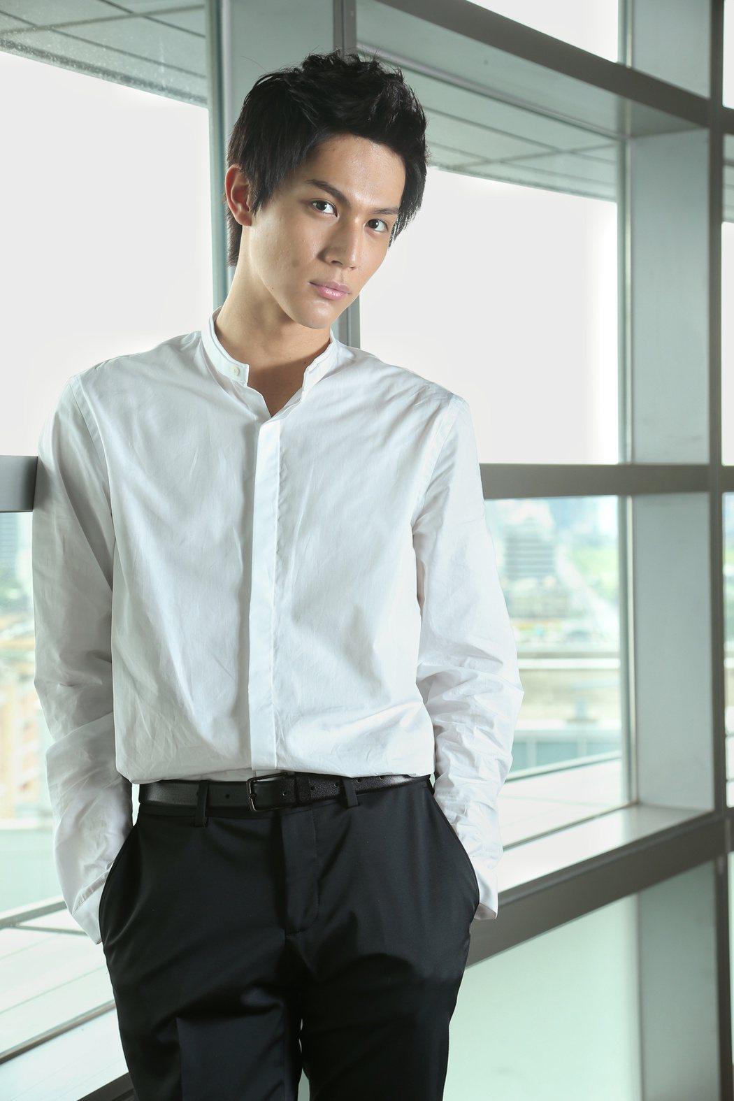 日本男星中川大志專訪。記者陳立凱/攝影