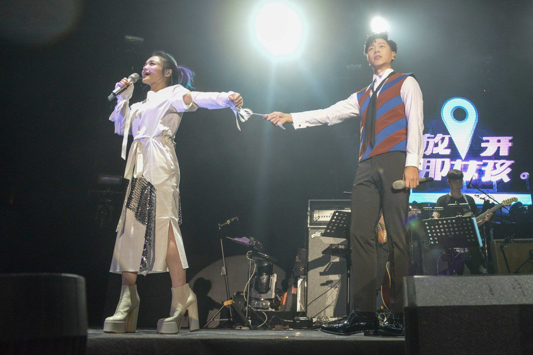 韋禮安「放開那女孩」巡迴演唱會至北京場,徐佳瑩當嘉賓。圖/福茂提供