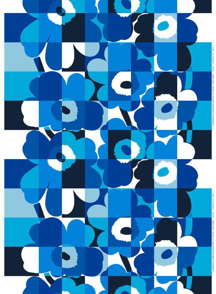 芬蘭時尚品牌Marimekko為歡慶芬蘭建國百年,特別以芬蘭國旗上的「藍白」配色...