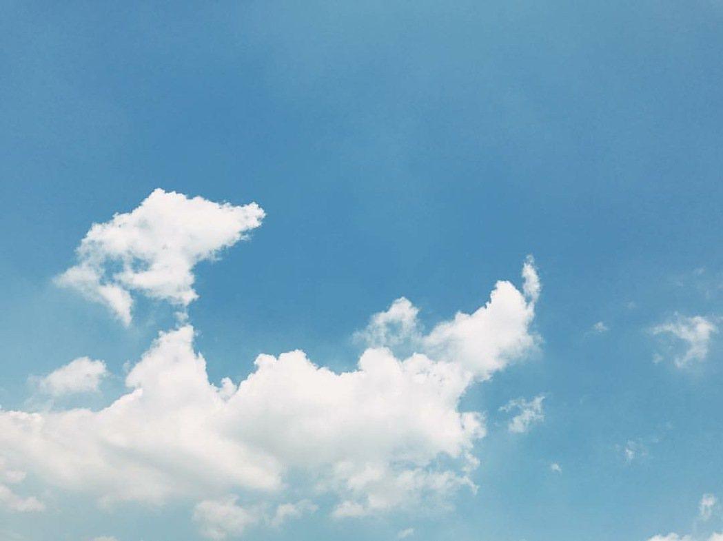 魏如萱希望父親往天堂去。圖/摘自臉書