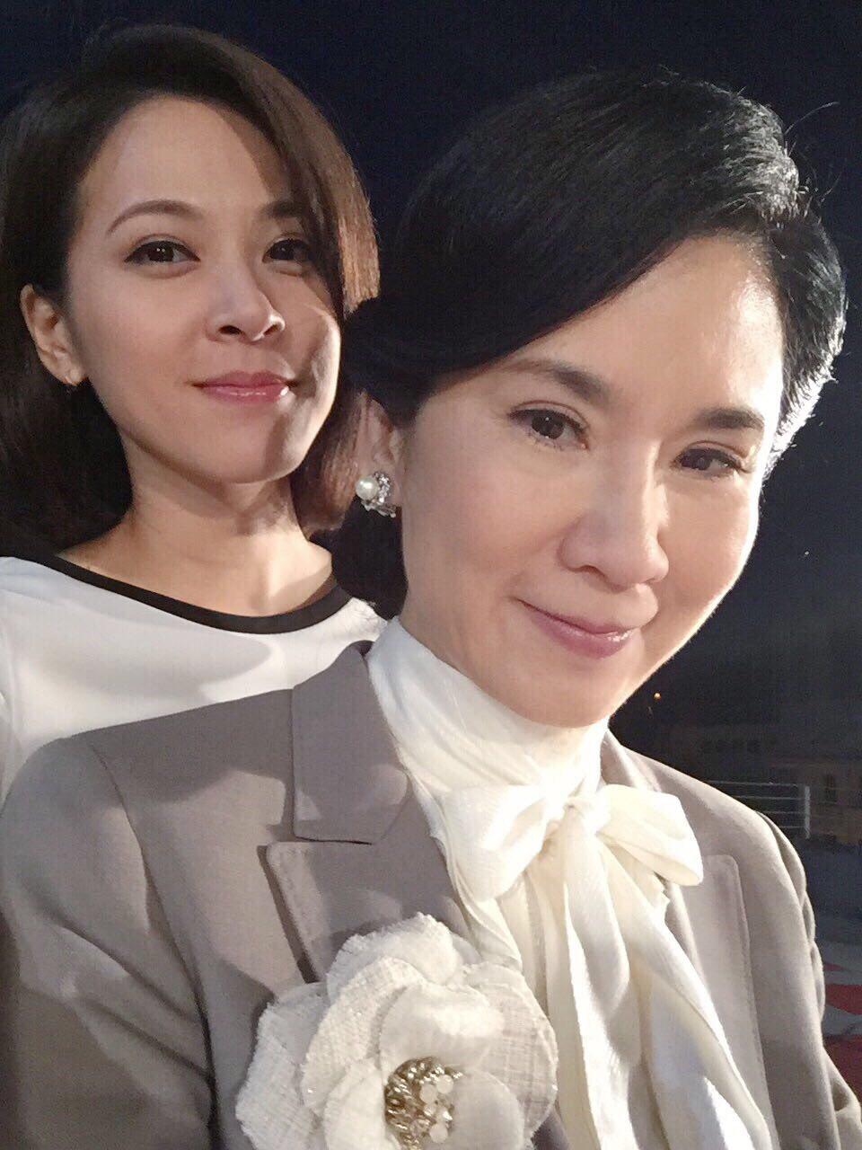 葉歡、蘇晏霈戲裡演母女,感情好到像姐妹。圖/民視提供