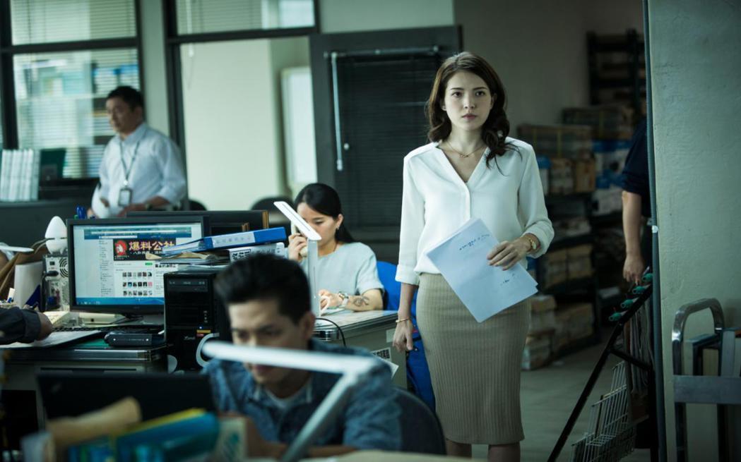 許瑋甯在「目擊者」裡再度挑戰演技。圖/穀得提供