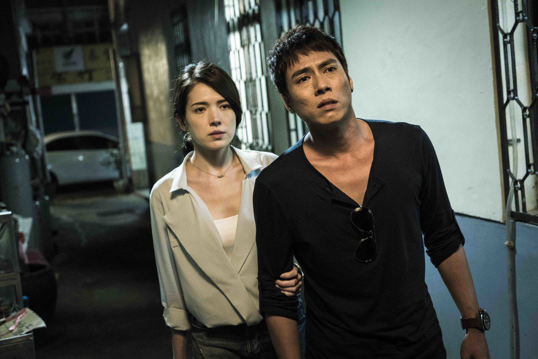 莊凱勛與許瑋甯在「目擊者」裡有精彩對手戲。圖/穀得提供