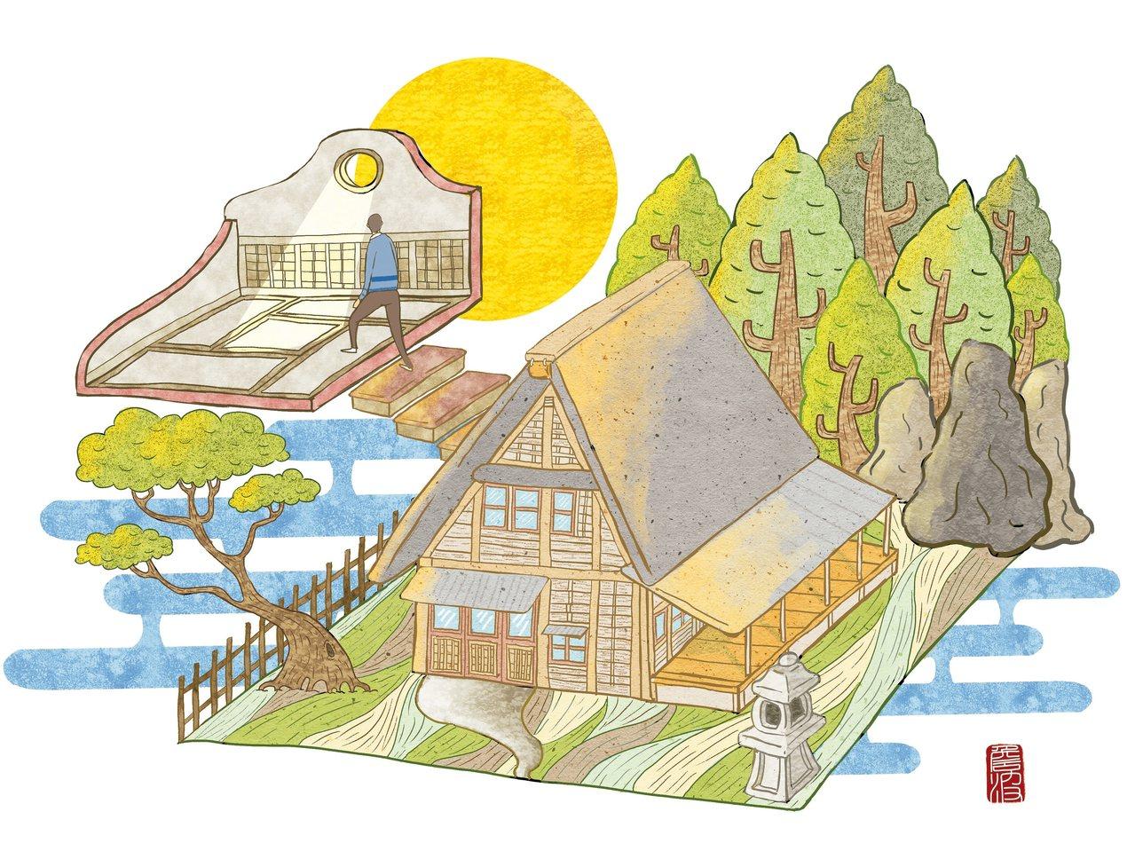 照不到陽光的密室有一次,我們去銚子港附近的小漁村旅行,看完漁港燈台及展望台後...