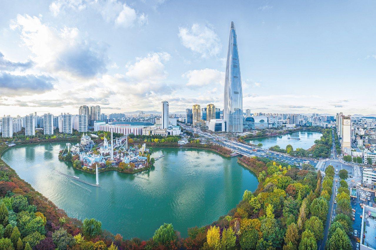 樂天世界塔成為首爾新地標。 圖/韓國觀光公社提供