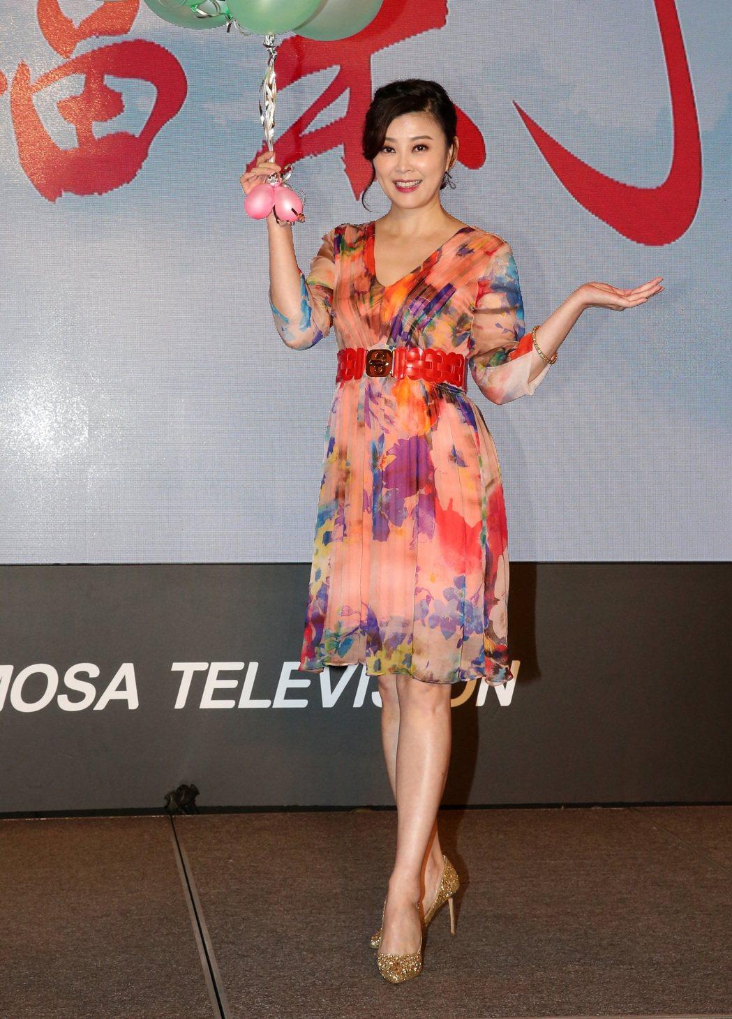 民視最新八點檔大戲「幸福來了」,演員方馨。記者胡經周/攝影