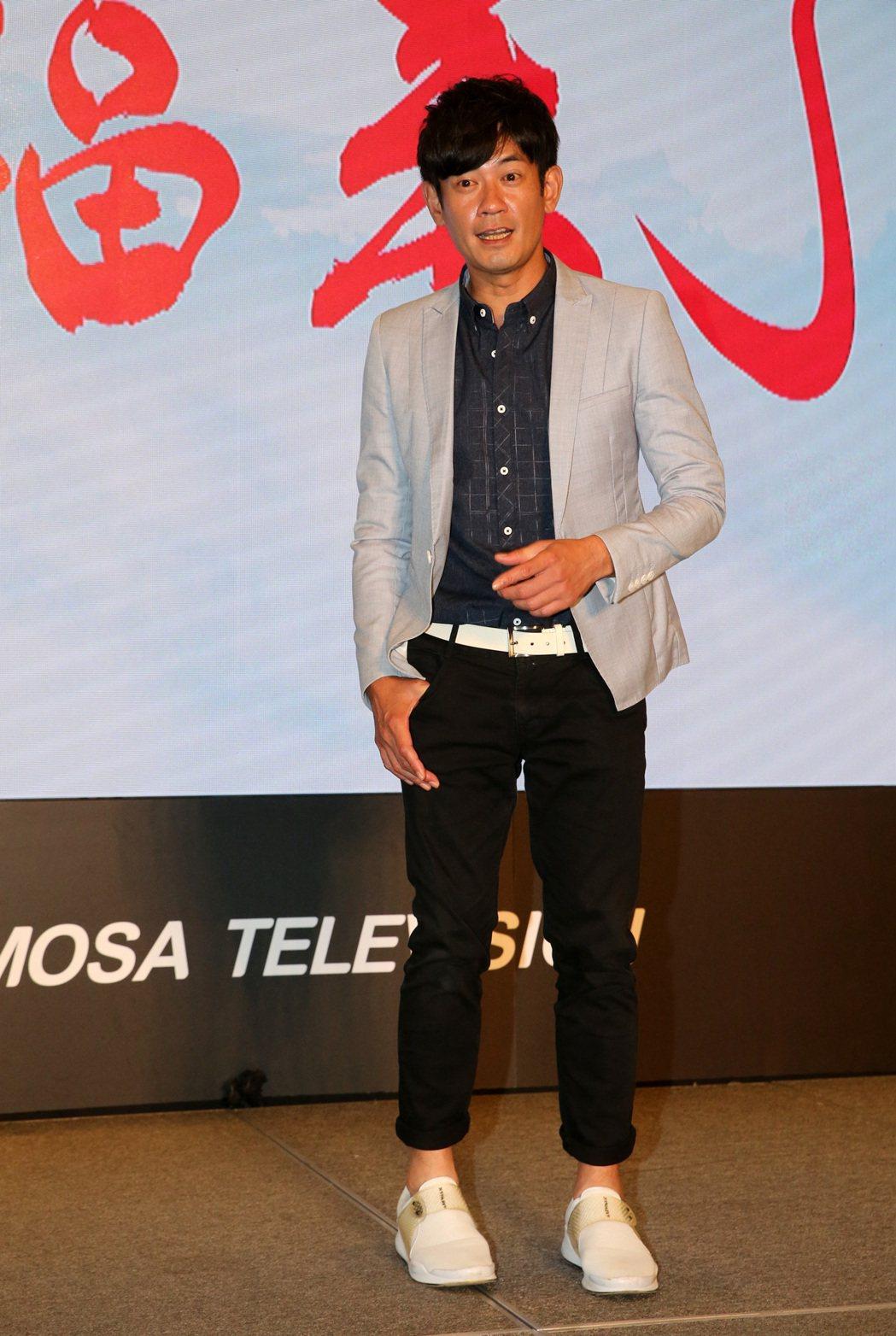 民視最新八點檔大戲「幸福來了」,演員柯叔元。記者胡經周/攝影