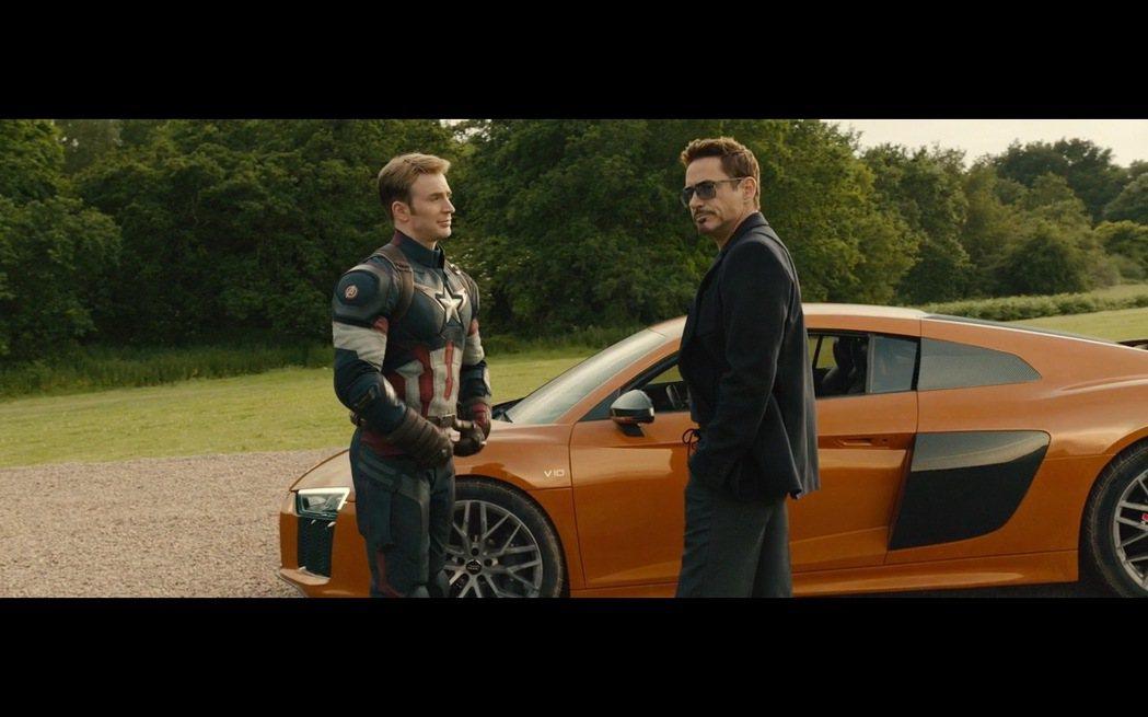 鋼鐵人Tony Stark幾乎已經與Audi R8畫上等號。圖/截自Youtub...