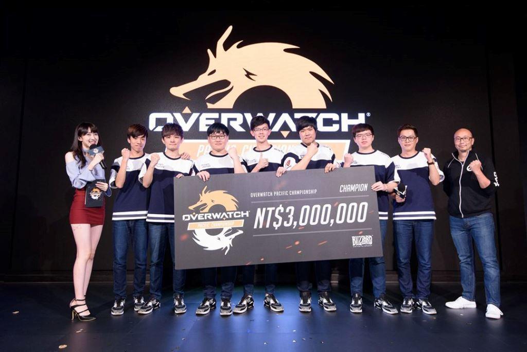Flash Wolves閃電狼拿下 OPC 首季冠軍頭銜與 300 萬獎金