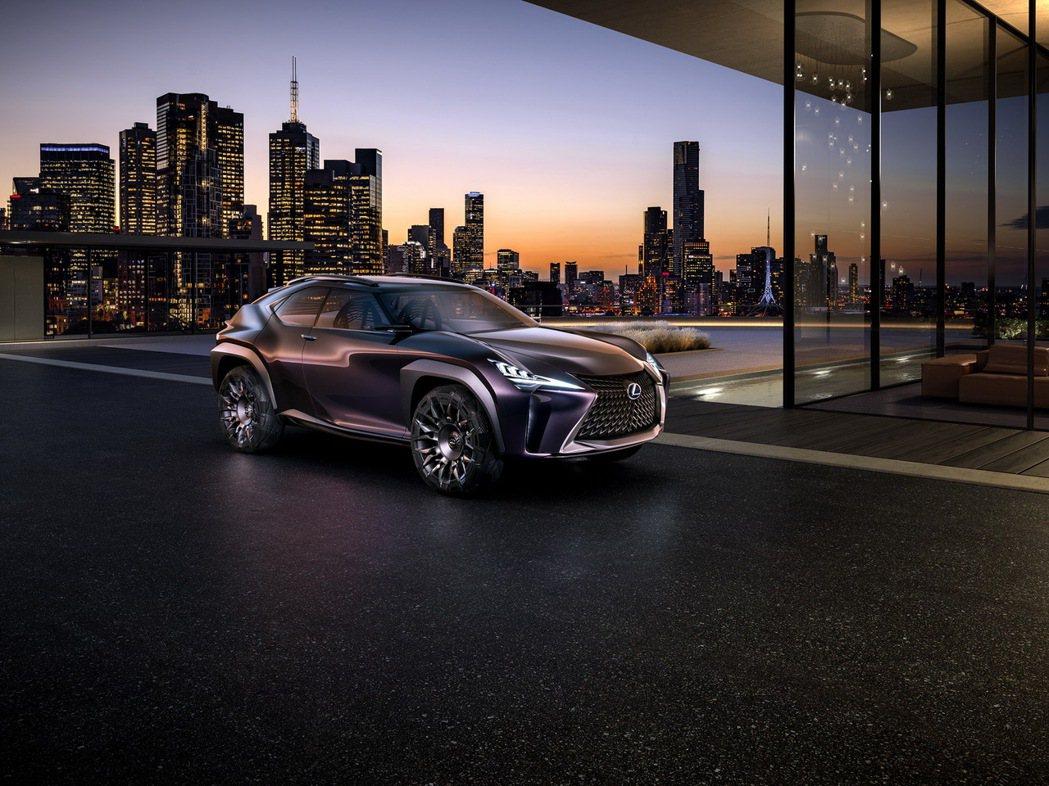 小型跨屆休旅車目前已是個快速成長的市場。 摘自Lexus